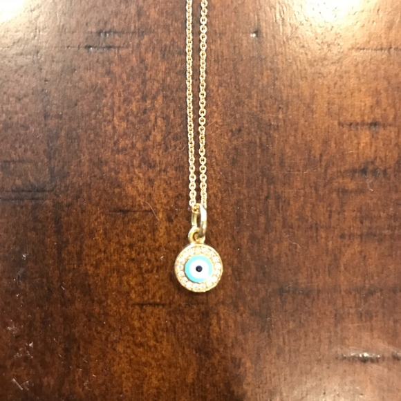 Aaron basha jewelry diamond evil eye pendant necklace poshmark aaron basha diamond evil eye pendant necklace aloadofball Images